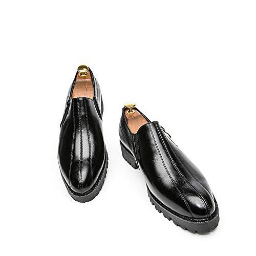 formali 41 EU Oxford Nero unita tinta Scarpe Stringate 2018 Xujw uomo punta a Color per tinta Dimensione Scarpe da uomo Basse antiscivolo a unita Nero shoes c7fwSfgqY
