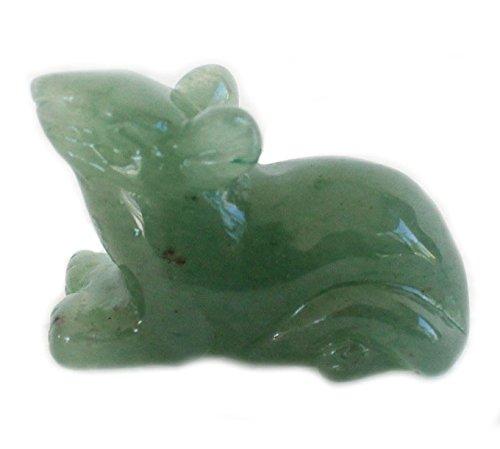 Jade Rat Statue (Jade Chinese Zodiac)