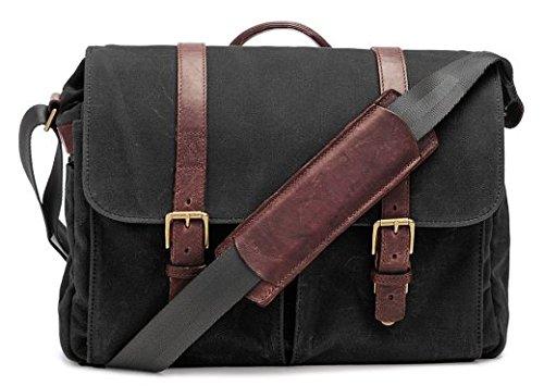 ONA Brixton Messenger Bag (Updated 2015) - Black by Ona