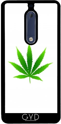 Funda de silicona para Nokia 5 - Hoja De Marihuana by loki1982
