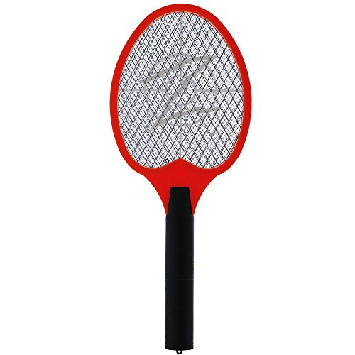 KORAMZI F-5 Electric Mosquito Swatter, Bug Zapper,Mosquito racket For Indoor And Outdoor Insect Control (Yellow)