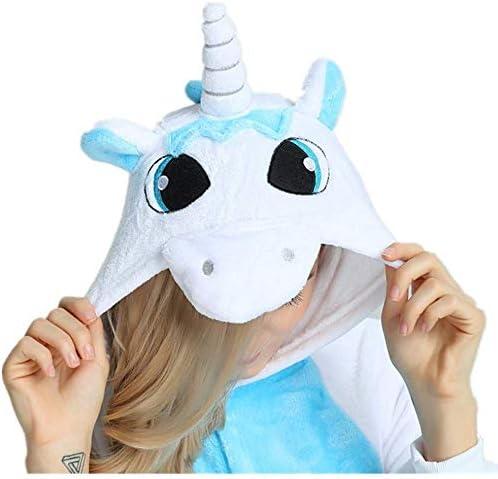 Kenmont Unicornio Juguetes y Juegos Traje Disfraz Animal Ropa de Dormir Cosplay Disfraces Pijamas para Adulto Niños (S: 148-160CM, Búho)