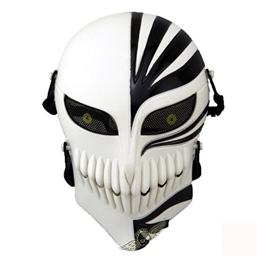 GreenEmart Death Skull Face Mask - Full Face Protective Tactical Mask Gear for Airsoft Paintball Cs War Game -