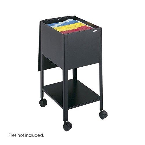 Economy Tub File, 13-1/2w x 17-1/2d x 27-3/4h, Black, Sold as 1 (Economy Steel Tub File)