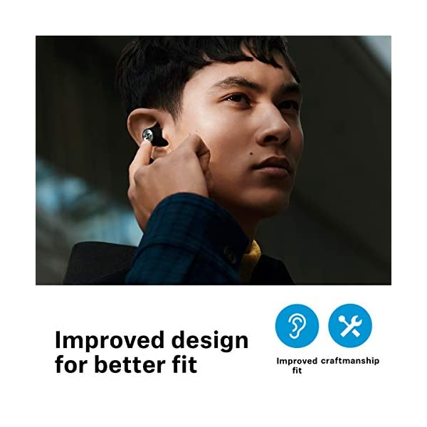 Sennheiser Momentum True Wireless 2 - Bluetooth Earbuds with Active Noise Cancellation, Smart Pause, Customizable Touch… 2021 June Enjoy unrivalled stereo sound created by Sennheiser's unique 7mm dynamic audio drivers Switch off your surroundings and focus on the deep bass the natural mids and the clear treble thanks to Active Noise Cancellation Experience uninterrupted play time with the new 7-hour battery life that can be extended up to 28 hours with the charging case
