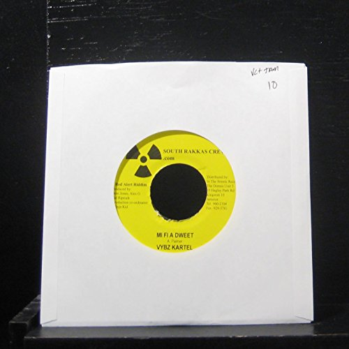 "Price comparison product image Vybz Kartel / Fire Storm - Mi Fi A Dweet / Gal So It Cool - 7"" Vinyl 45 Record"