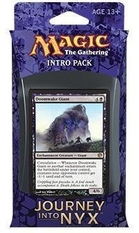 Magic the Gathering (MTG) Journey Into Nyx Intro Pack / Theme Deck - Pantheon's Power - Black (Includes 2 Booster Packs) ()