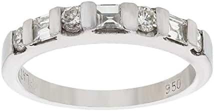 0.62 CTW Diamond Fashion Ring in Platinum Gold