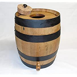 Kombucha Brewing Charred Oak Barrel 33 Choose either the 5, 10 or 20 liter barrel for brewing your Kombucha 4 inch hole cut in the top of the barrel head Spigot is located on the lower side of the barrel.
