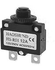 New Lon0167 Air Compressor Circuit Breaker Overload Protector AC125/250V 12A(berlastungsschutz fr den Kompressor-Leistungsschalter A?125 / 220V 12A