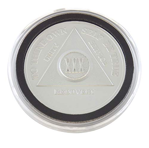 30 Year - Special AA Coins - .999 Silver AA Medallion   Recovery Shop (Ounce Silver Coin 0.5)