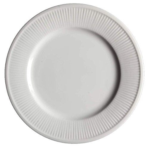(Fitz and Floyd White Classic Platter-Round)