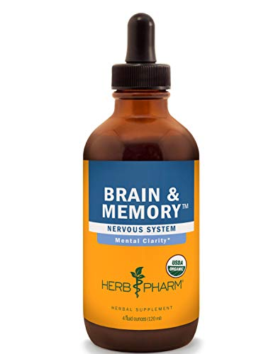 - Herb Pharm Brain and Memory Liquid Herbal Formula with Ginkgo for Memory and Concentration- 4 Ounce