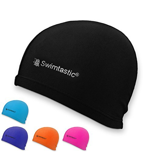 Swimtastic Lycra Swim Cap, - Nylon Swim Caps