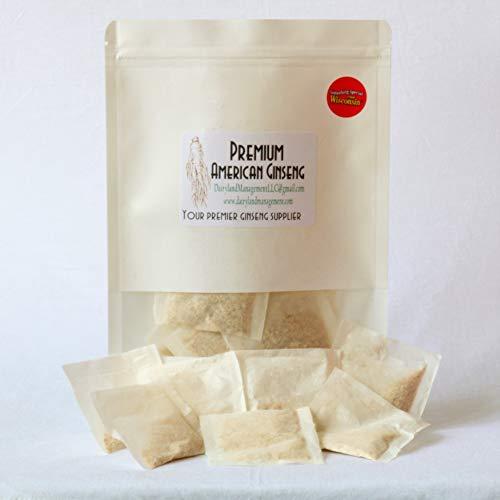 Natural Pure American Ginseng %E7%BE%8E%E5%9B%BD%E4%BA%BA%E5%8F%82%E8%8C%B6 product image