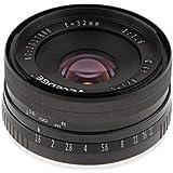 Homyl 32mm f/1.6 Large Aperture Manual Focus Lens APS-C for Sony E Mount Mirrorless Camera NEX 3 5 6