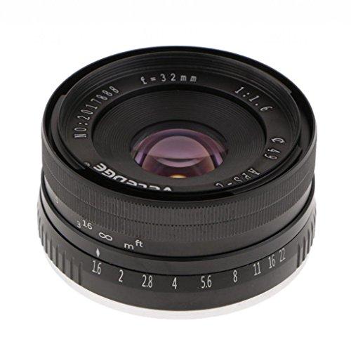Homyl 32mm f/1.6 Large Aperture Manual Focus Lens APS-C for Sony E Mount Mirrorless Camera NEX 3 5 6 by Homyl (Image #7)