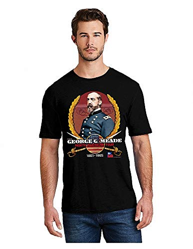 BATTLEFIELD ROCKSTARS George Meade North American Tour T-Shirt (XX) Black