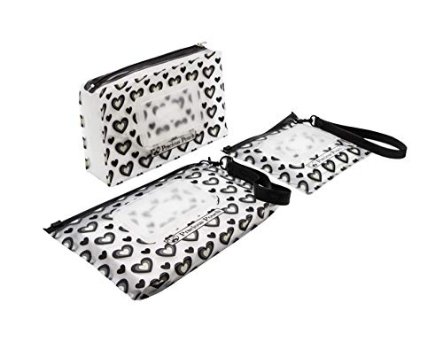 Baby Wipes Holder by Precious Pouch (Set of 3) | Refillable Wet wipes dispenser/clutch, Portable travel case fits most wipes including makeup wipes. Super lightweight. Wipes will stay moist for weeks! ()