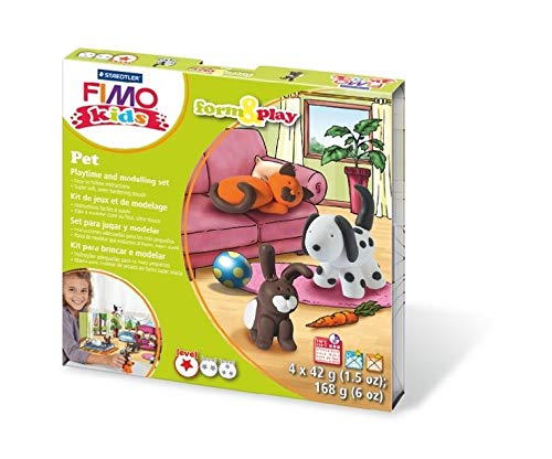 Pet Staedtler Fimo Kids Form and Play Set