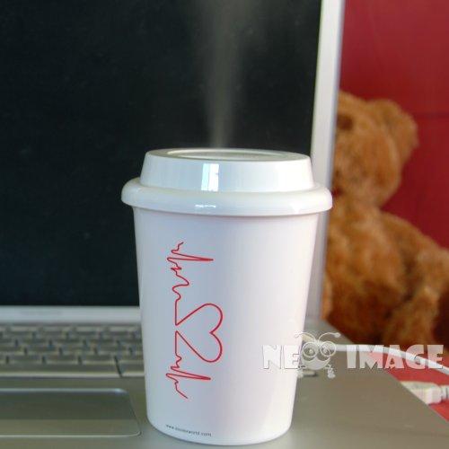 Doulex Mini Coffee Cup Mist Humidifier USB powered