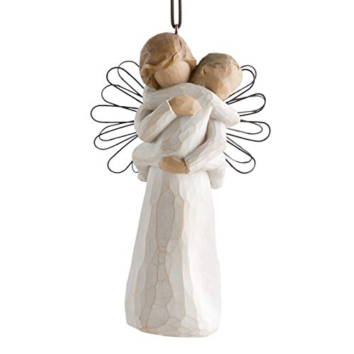 Willow Tree Angel's Embrace Ornament by Susan Lordi 26089 - Figurine Tree Ornament