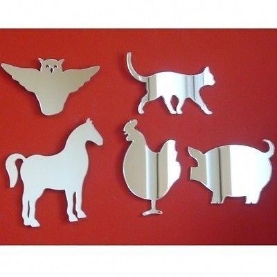 Farmyard Animals Wall Mirror Bundle
