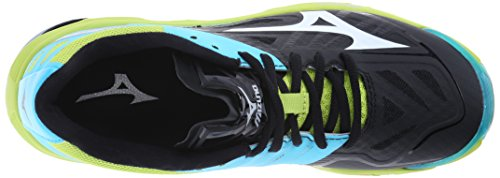 Mizuno Lightning Black Volleyball Blue Wave Shoe Z2 Atoll Women's TrUwnSqET
