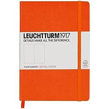 Leuchtturm1917 Hardcover Medium Dotted Journal [Orange]