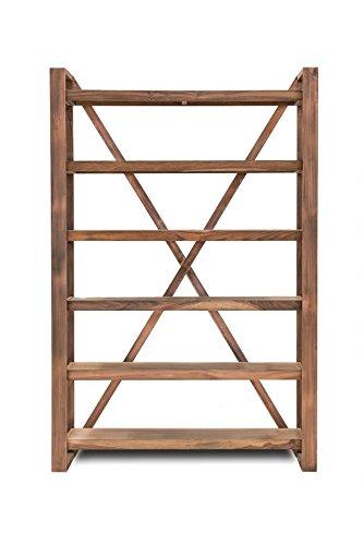 SIT-Möbel 2799-04 Regal Sahara, 6 Böden, Brettgröße 115 x 35 x 5 cm, zwischen den Böden 28,5 cm, oberster beziehungsweise unterster Abstand 10 cm, circa 125 x 40 x 190 cm