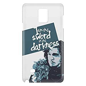 Loud Universe Samsung Galaxy Note 4 3D Wrap Around I'm Sword In The Darkness Print - Multi Color