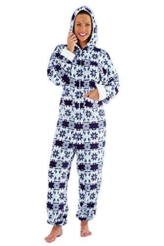 Selena Secrets - Pijama de una pieza - para mujer Azul