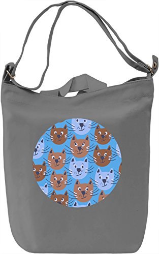 Lovely Kitties Borsa Giornaliera Canvas Canvas Day Bag| 100% Premium Cotton Canvas| DTG Printing|