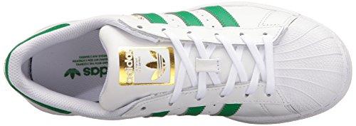 Adidas Kvinners Originaler Super Hvit / Fairway / Metallisk / Gull