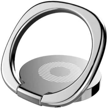 Finger Grip Ring morePower2You Phone Ring Holder Stand Silver 360/°Rotation /& 180/°Flip with Strong Sticky Gel Pad for iPhone 6 6S 7 8 Plus X Galaxy S5 S6 S7 S8 S9 Note 8 9