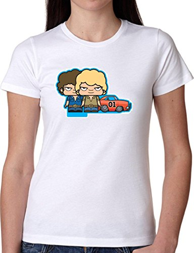 T SHIRT JODE GIRL GGG22 Z0858 KIDS TOYS CAR CARTOON COMICS PLAY FUN FASHION COOL BIANCA - WHITE M