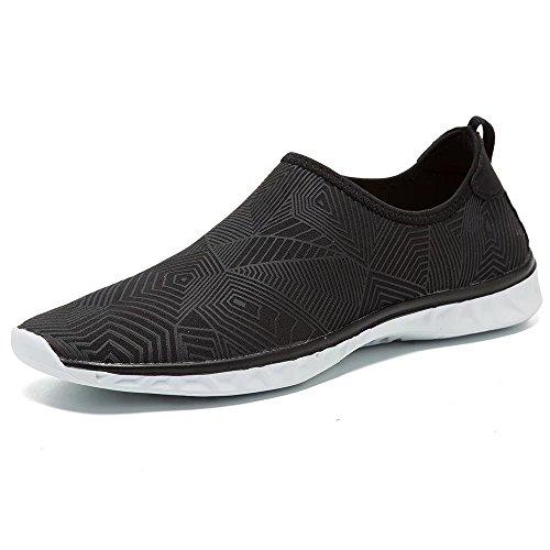 Aqua Water Schuhe Herren Leichte Wanderschuhe für Frauen Schwarz