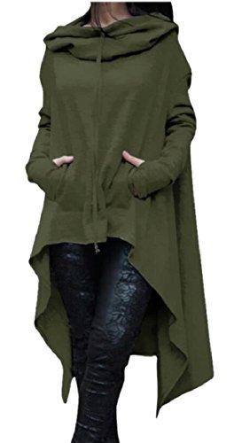 Qianqian-au Casual Ourlet Irrégulière Femmes Longue Robe De Coton Ouaté Cordon De Serrage 1