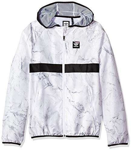 adidas Originals Mens Skateboarding Marble Blackbird Packable Jacket