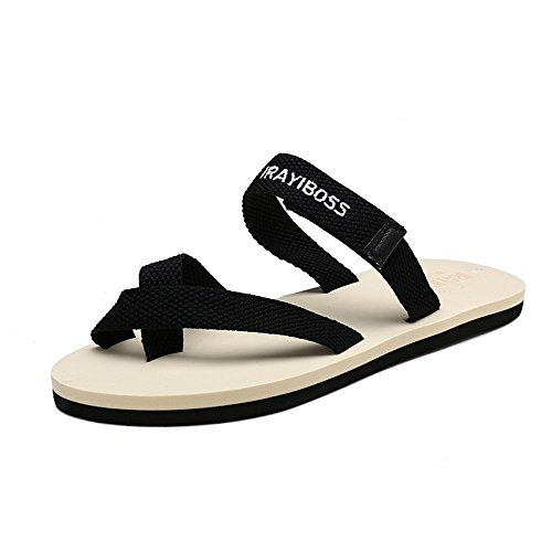 Slipper Color white Heel Soft Red Men's Sunny Flop Strap amp;Baby Size 6 Flat Women Flip Black and Durable MUS Uwvwzq7