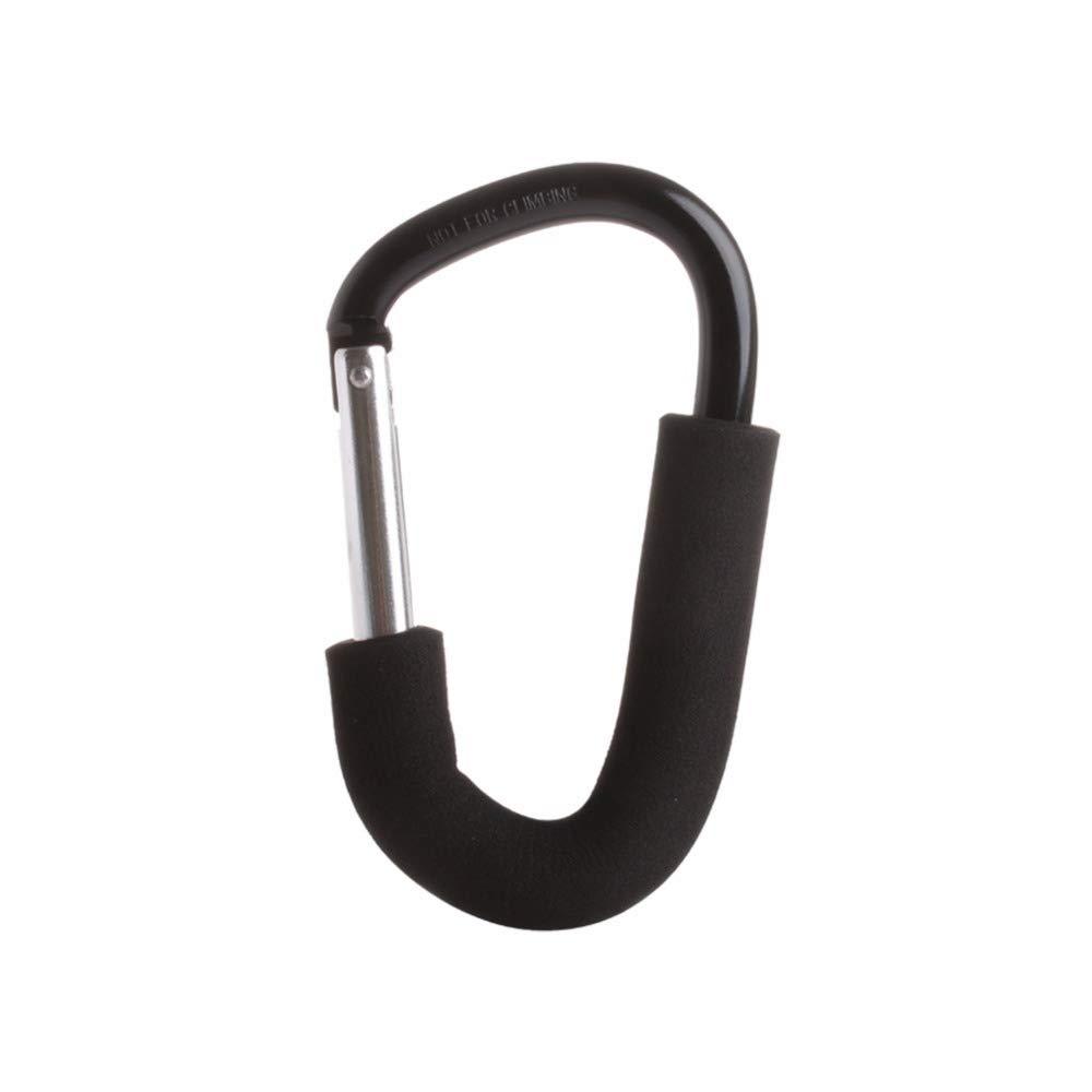 MAOFALZZNA Aluminium Baby Stroller Hooks Baby Pram Hooks Shopping Bag Carriage Stroller Pushchair Clip Hanger 2 pcs,1610CM