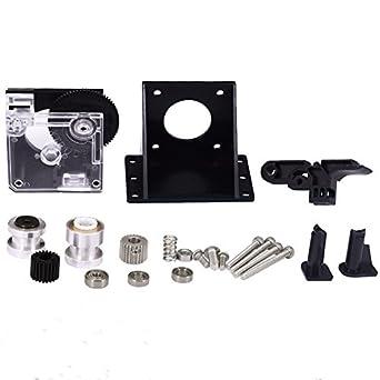 Titan Extruder Full Kit with NEMA 17 Stepper Motor for 3D Printer 1.75//3.0