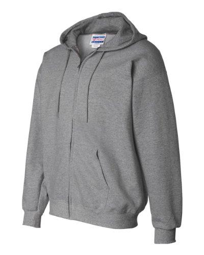 Hanes 10 oz ULTIMATE COTTON Full-Zip Fleece (Thermal Full Zip Jersey)