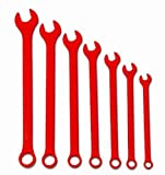 Williams WS-1170RSC 7-Piece Red Super Combo Combination Wrench Set by Williams
