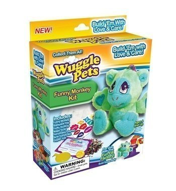 WugglePets -Funny Monkey Kit - County South Center Shopping