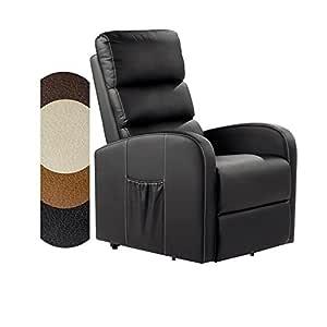 Deluxe Sillón Relax Senior Masaje Levanta Personas reclinable Eléctrico