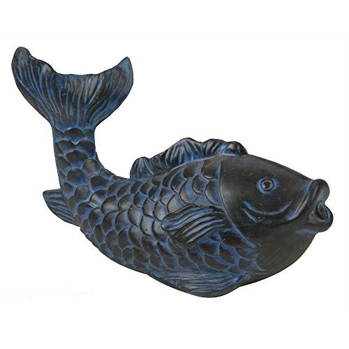 Spitter Ornament Pond (TotalPond Blue Koi Spitter)