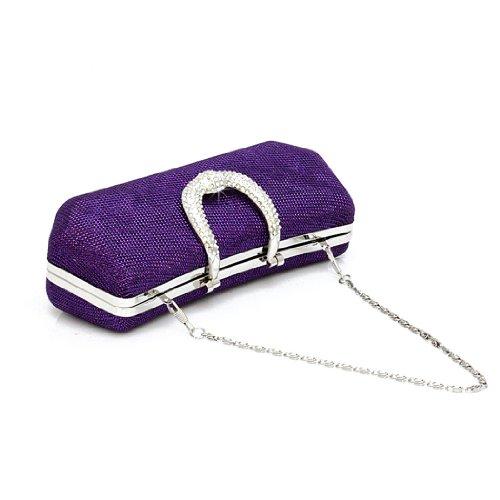HOTER - Cartera de mano para mujer púrpura - morado