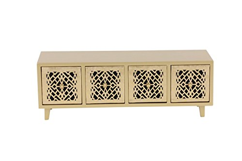 Deco 79 82182 Gold Finished Four-Drawer Jewelry Chest, 6