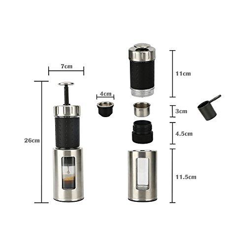 Staresso Coffee Maker with Espresso, Cappuccino and Quick Cold Brew - Black 11street Malaysia ...